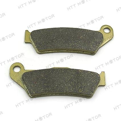HTTMT BPFA181 Disc Brake Pad Set Compatible