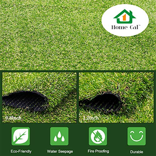 Mr.Garden Artificial Grass Rug Series Landscape Indoor/Outdoor Green Decorative Synthetic Turf Pet Dog Area 3cm Autumn Grass