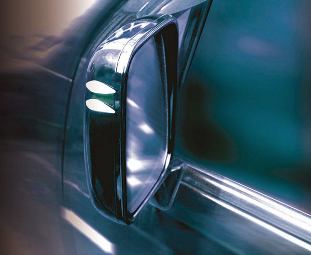 8 ST/ÜCK im Set selbstklebend Hypersonic/® HP6138 Stylischer Universelles Aussenspiegelschutz Spiegelschoner Aerodynamisch