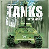 Tanks of the World 2018 12 x 12 Inch Monthly Square Wall Calendar, Military Vehicle Equipment
