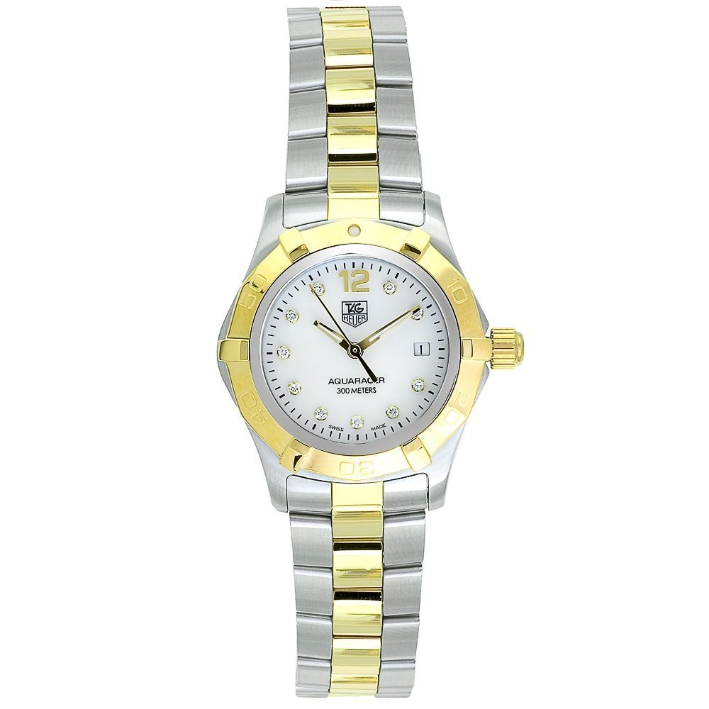 TAG Heuer Women s WAF1425.BB0814 Aquaracer Diamond Watch