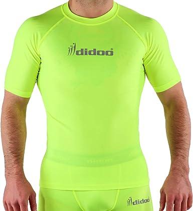 Men Compression Base Layer Shirt Tights Short Sleeve Sportswear T-Shirt Tops