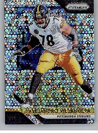 d1f5c938f 2018 Panini Prizm Prizm Disco Football  37 Alejandro Villanueva Pittsburgh  Steelers Official NFL Trading Card