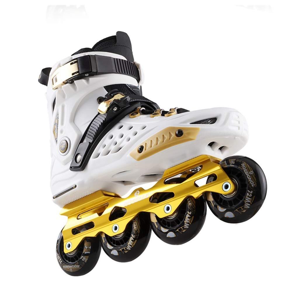 LXP Inline Skates Erwachsen-Anfänger-einzelne Reihen-Rochen, Reihen-Rochen, Reihen-Rochen, Berufs-Fantastische Inline-Rollen-Schuhe, Antikollisions-Dämpfung, Breathable, 3 Farben Professionelle Skates mit hoher Konfiguration B07QMJWY71 Inline-Skates Angemessene Lieferung und d56e28