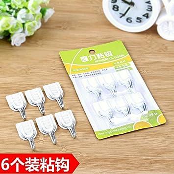 CWAIXX Mächtige Magische Nagel Freie Nahtlose Stick Selbstklebende Haken  Haken In Der Küche Hinter Der Badezimmer