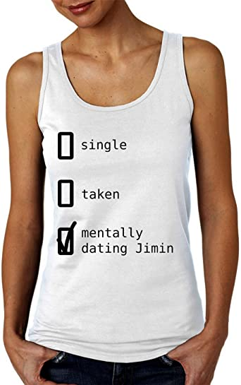 BTS Mentally Dating Jimin Camiseta sin Mangas para Mujer ...