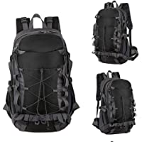 CNSSKJ Extra Large 50L Nylon Travel Backpack Outdoor Sports Hiking Backpack Camping Climbing Daypack Waterproof Fishing Backpack Travel Cycling Backpack #3529
