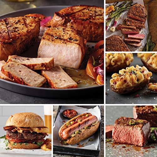 Omaha Steaks Premier Selection (20-Piece with Filet Mignons, Boneless New York Strips, Top Sirloins, Boneless Pork Chops, Steak Burgers, Jumbo Franks, and Stuffed Baked Potatoes) ()