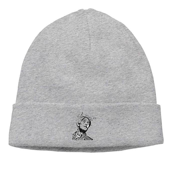 0989f4658 Amazon.com: Salind Fashion Lil-Peep- Cry Baby Warm Watch Hat Gray ...