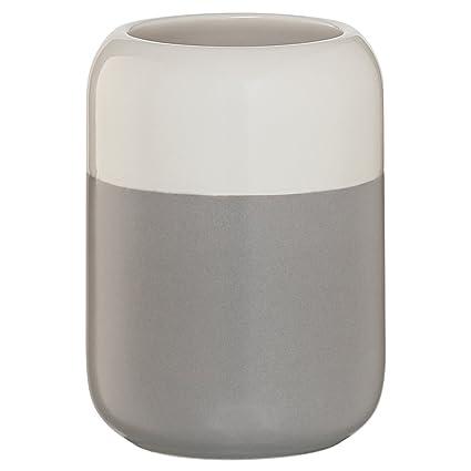 Sealskin Vaso para Cepillo de Dientes Sphere, 7.3 x 7.3 x 10.4 cm, Porcelana