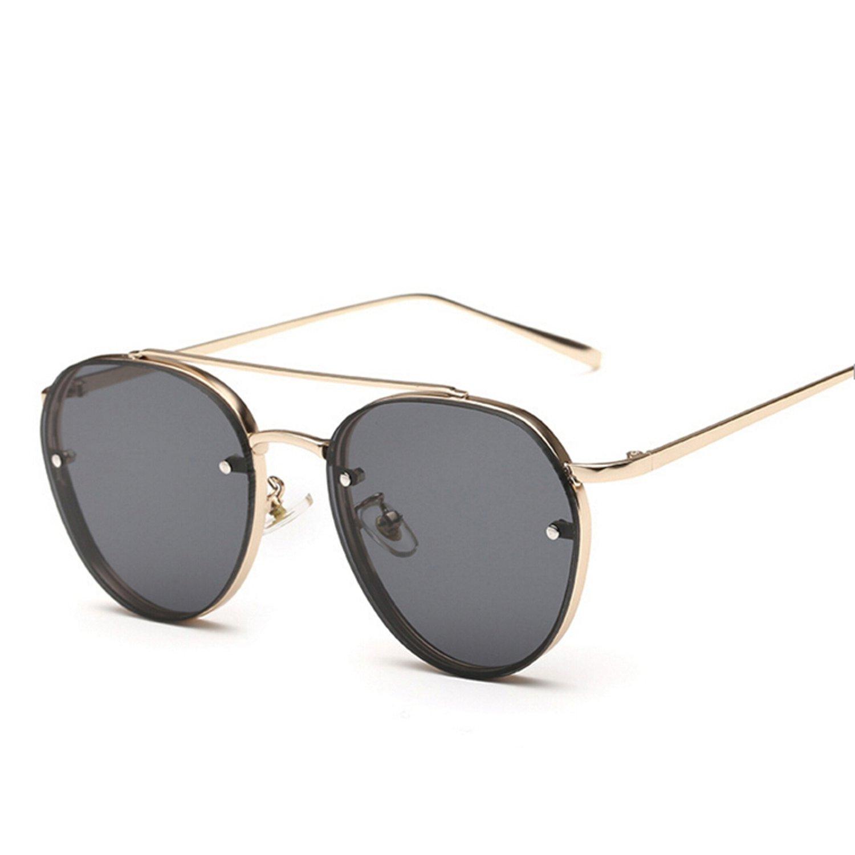 dbc76204cc Amazon.com  yellow green pink ocean sunglasses women fashion summer style  steam punk metal sun glasses men uv400 lentes de  Clothing