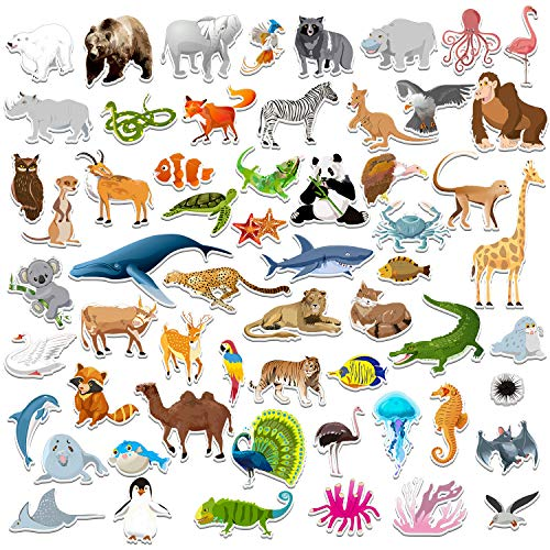 - SpriteGru 59 PCS Farm Animal Zoo Magnets For Toddlers Kids, Perfect Preschool Learning