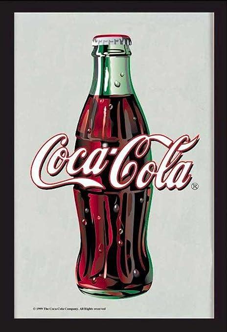 newest 73062 118c0 Empire 544254 Coca Cola Bottle Specchio con Stampa, Cornice ...