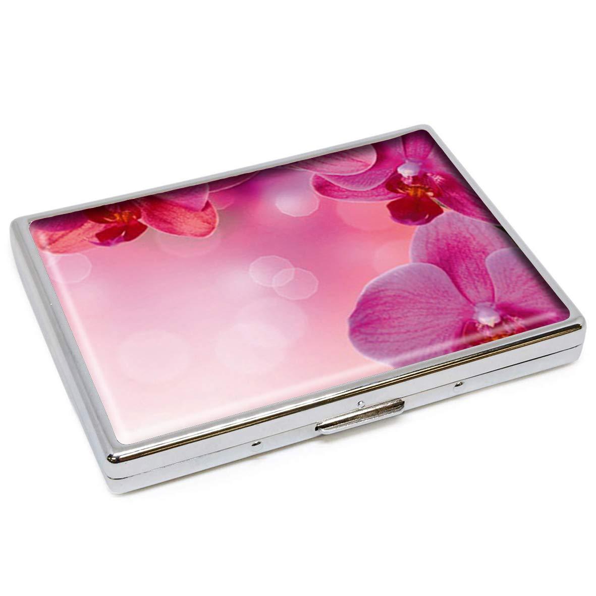 Estuche para Cigarrillos con diseño de Flores Rosas y Flores, de ...