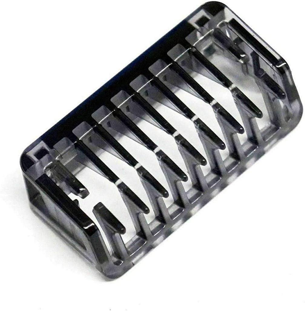 Peine de 1 mm para afeitadora Philips OneBlade One Blade QP2510 QP2520 QP2521 QP2522 QP2530 QP2531 QP2620 QP2630 422203626121: Amazon.es: Belleza