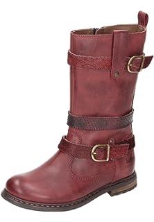 Lea M?dchen Stiefel rot 560412-4, Gr. 34