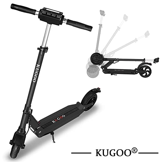 KUGOO S1 Scooter eléctrico Plegable, Motor de 350 vatios ...