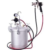 8 L hoge druk tank pot 2.0 mm spuitpistool verf container luchtsysteem