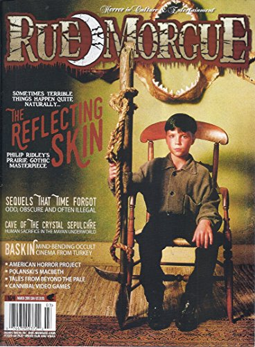 (Rue Morgue Magazine (Issue #164 - March 2016 - The Reflecting Skin))