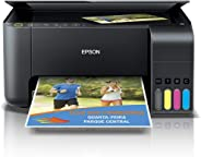 Impressora Multifuncional, Epson, EcoTank L3150, Tanque de Tinta, Wi-Fi