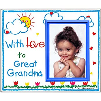 Amazoncom With Love To Grandma Picture Frame Gift Childrens
