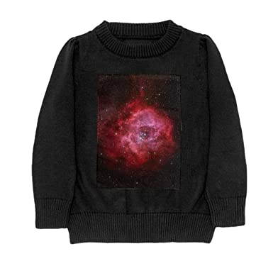 DTMN7 colorful Galaxy Space Magical Nebula Teens Sweater Long Sleeves Crew-Neck Youth Athletic Casual Tee Junior Boys
