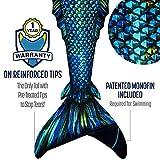 Fin Fun Atlantis Mermaid Skin, Monofin