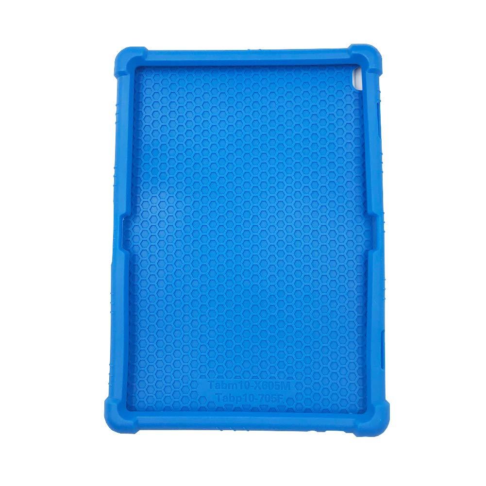 Soporte Silicona Suave Bolsa Ligero Caucho Fundas Blandas Protector para Lenovo Tab P10 TB-X705F M10 X605 ORANXIN Funda para Lenovo Tab P10 M10 10.1 Pulgada Tablet //