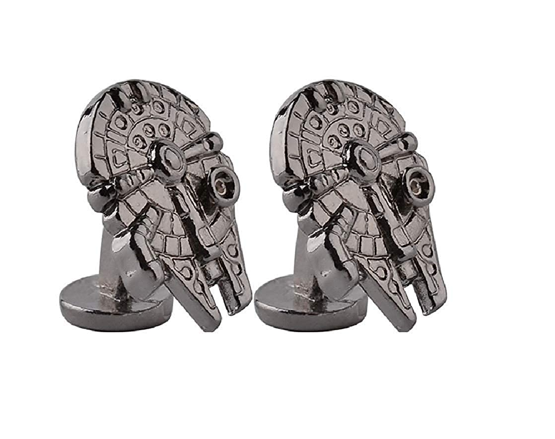 /Faucon Millenium Boutons de Manchette /Han Solo/ Accessoires Essentiels Star Wars Starship/