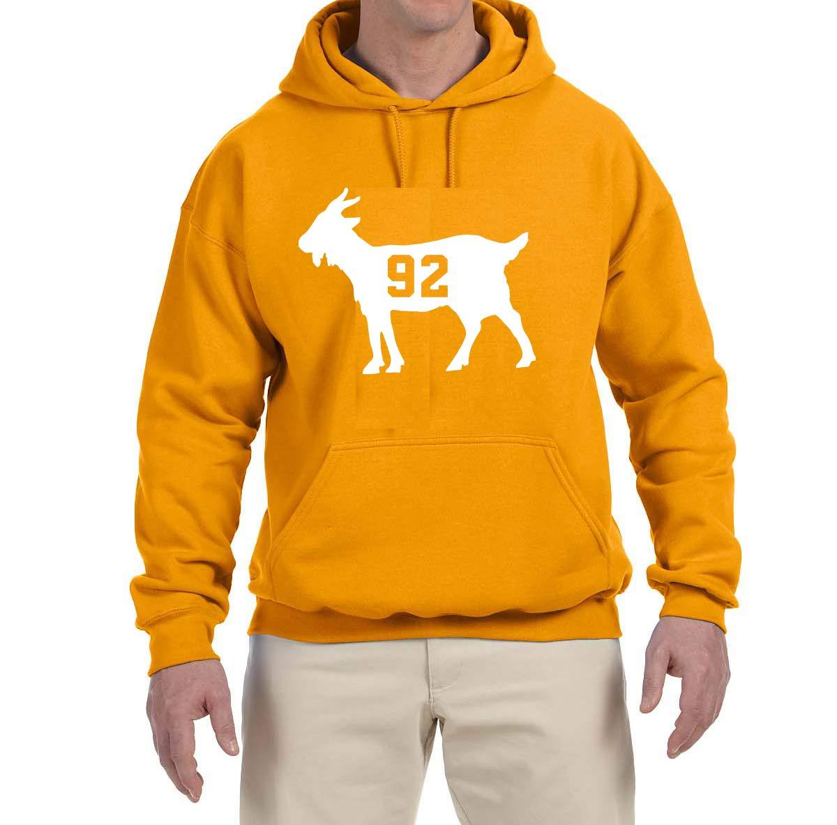 Tobin Clothing Orange Tennessee White Goat Hooded Shirts