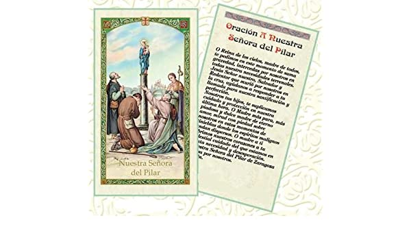 Amazon.com: Gifts by Lulee, LLC Nuestra Senora del Pilar ...