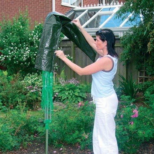 Protector para tendedero de ropa rotatorio, sombrilla, impermeable: Amazon.es: Jardín