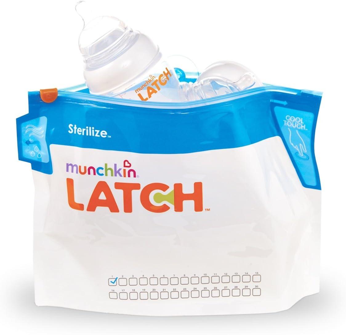 Munchkin - Bolsitas esterilizadoras: Amazon.es: Bebé