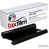 Faxfilm Film à encre équivalent de Philips PFA351 / PFA-351 / PFA 351 / PFA352 / PFA-352 / PFA 352 Compatible avec les fax Philips Magic 5 / 5 Basic / 5 Eco / 5 Voice / PPF 631 / 632 / 636 / 650 / 675 / 676 / 685 / 695 / PPF620E / PPF650E / PPF685E / PPF631E Capacité 140 pages