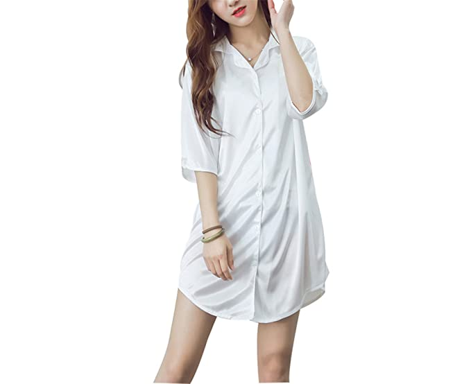Amazon.com: JIANGTAOLANG Women SHalf Sleeve Sleeping Dress Mini Sexy Sleepwear: Books
