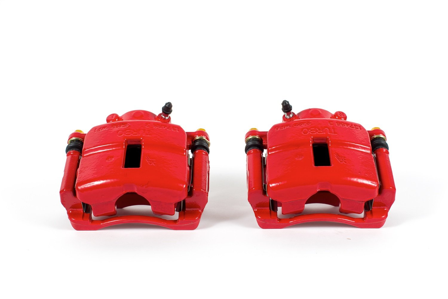 Power Stop S4882 Red Powder-Coated Performance Caliper