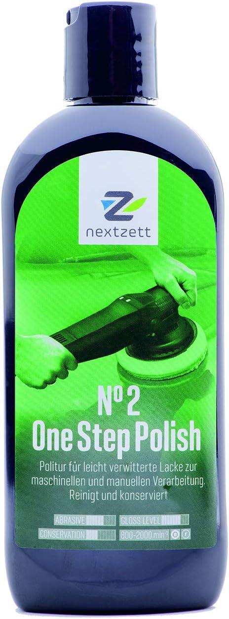 Nextzett 250ml No2 One Step Polish Lackpolitur Vormals 1z Einszett Auto