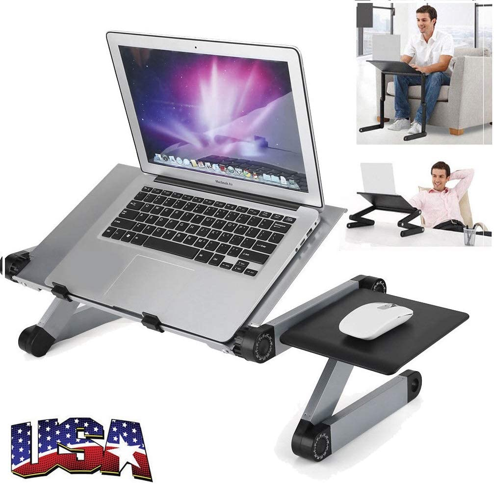 Mouse Pad Adjustable Light Weight sofa Chair bed Portable Laptop-Table-Stand