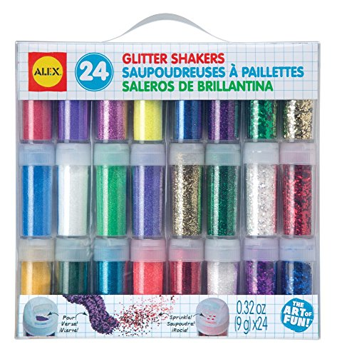 ALEX Toys Artist Studio 24 Glitter Shakers by ALEX Toys
