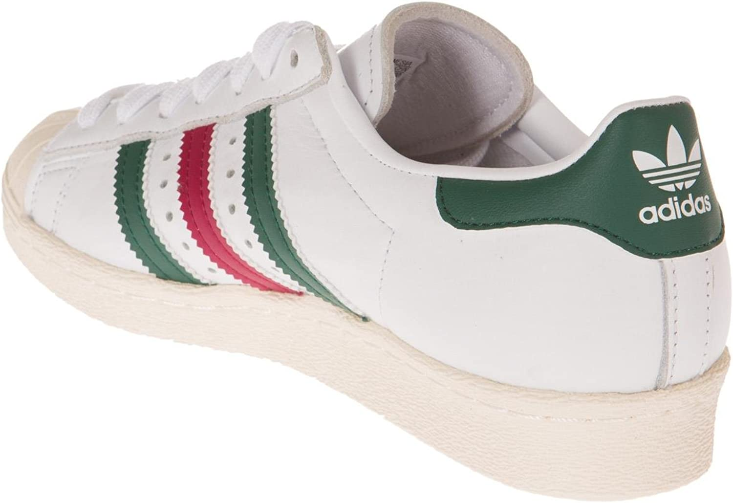 adidas superstars rosse e bianche