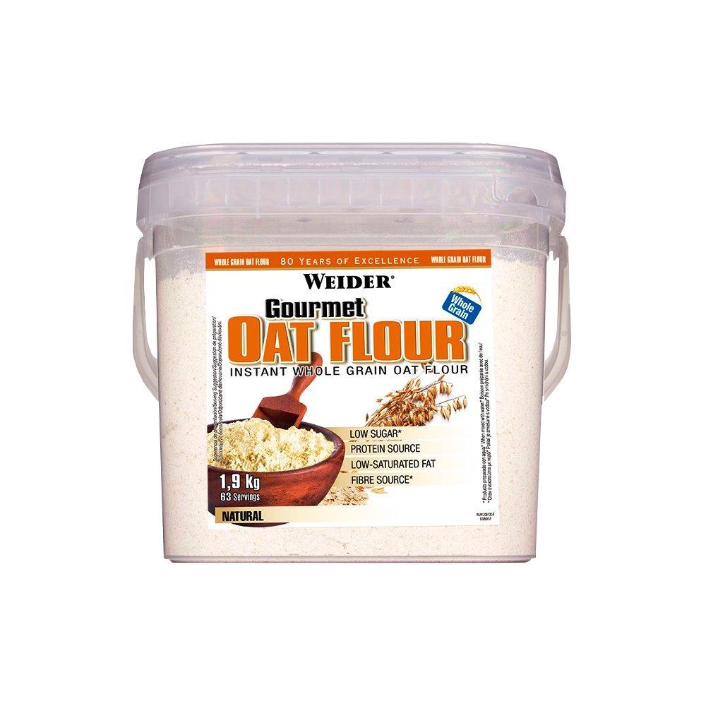 Weider Oat Gourmet Flour (Harina de Avena) - 1900 gr: Amazon.es: Salud y cuidado personal