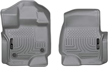 Amazon Com Husky Liners Fits 2015 19 Ford F 150 Supercrew Supercab Weatherbeater Front Floor Mats Automotive