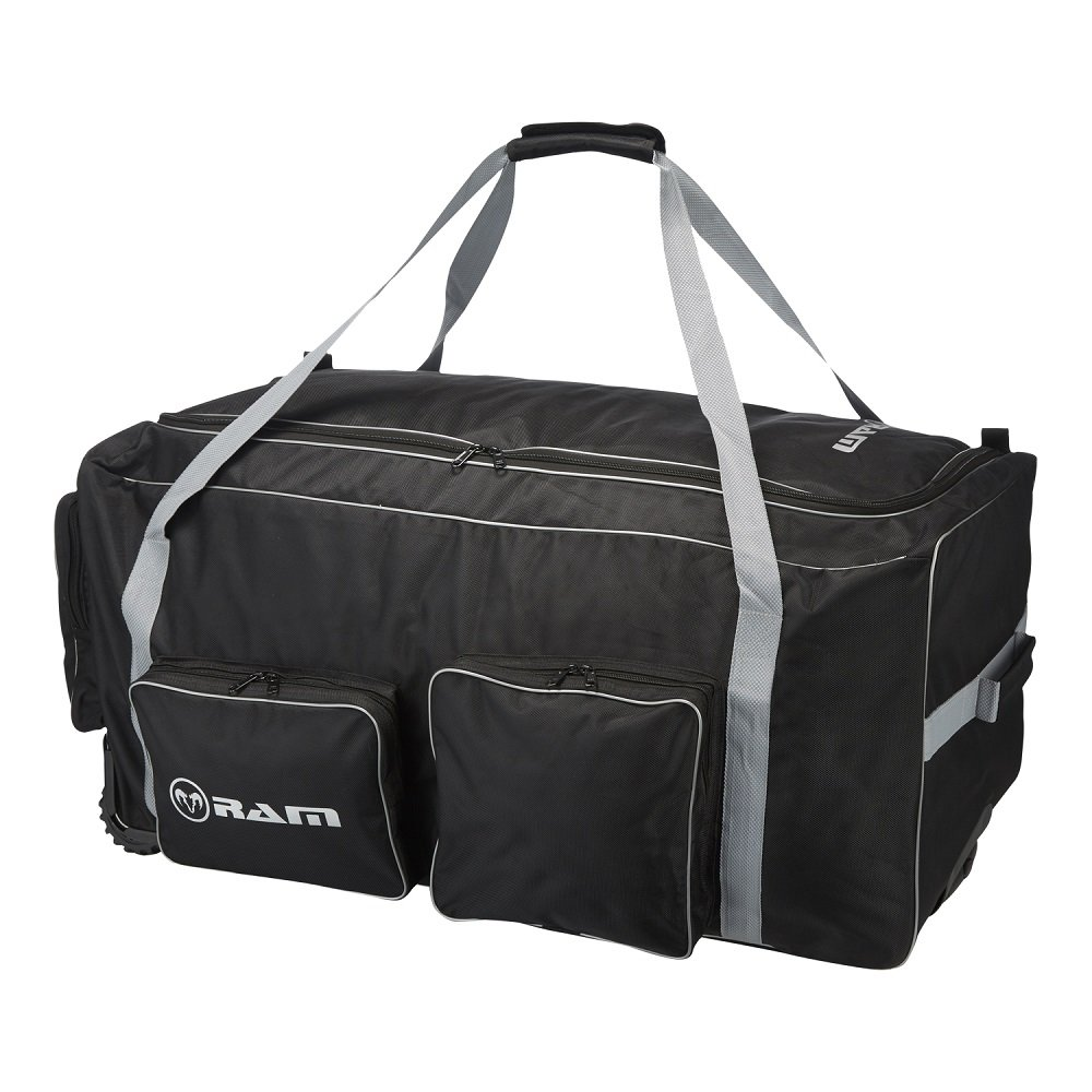 Rugby Team Kit Bag Pro - Large Capacity - Retractable Handle - Available In 2 Sizes - Ram Rugby