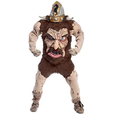 Nordic Warrior Viking Man Halloween Costume (Size Standard 44)  sc 1 st  Amazon.com : halloween costume viking  - Germanpascual.Com