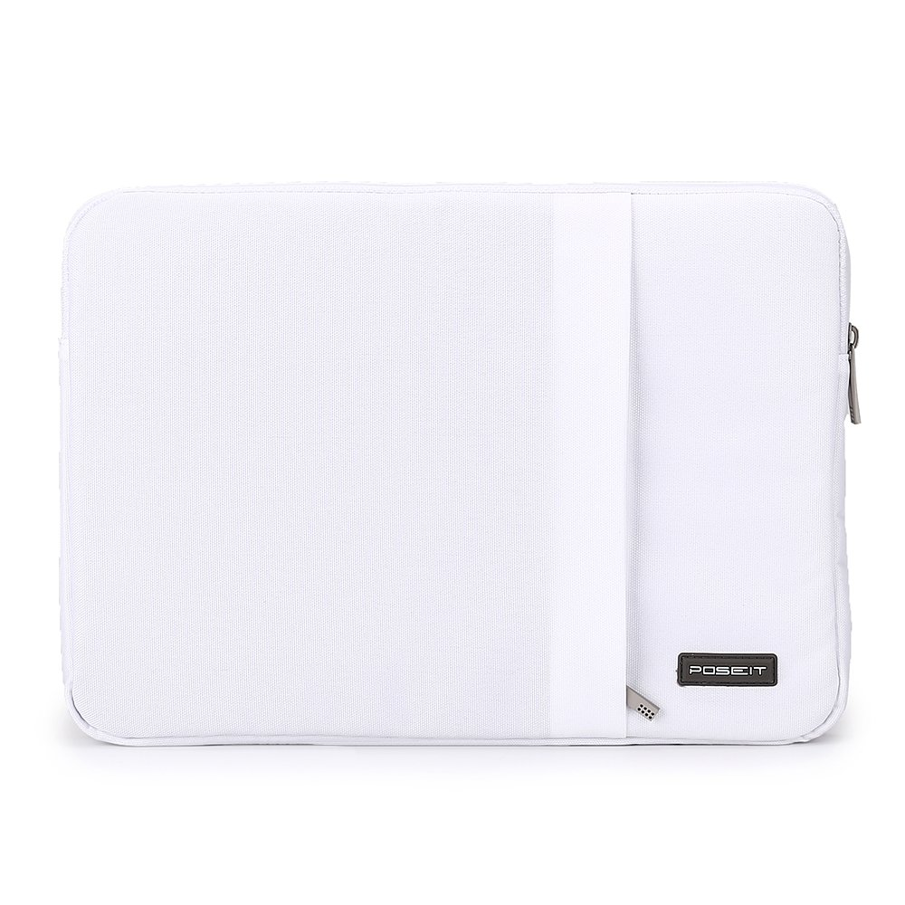 "Incase Sleeve Deluxe Leather Pouch Case for MacBook Pro 13/"" White Cranberry Pink"