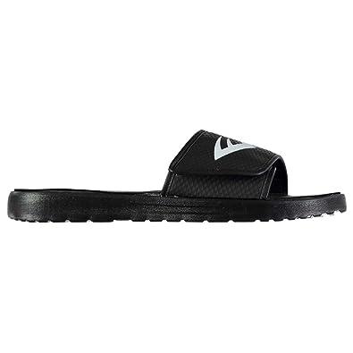 4c4ece0b16fe Everlast Mens Sensei Pool Shoes Adjustable Fastening Water Beach Summer  Black White UK 9 (