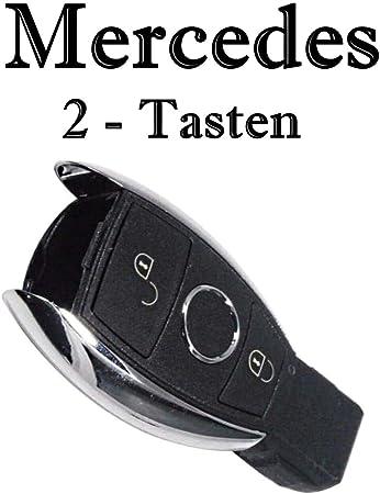Jurmann Trade Gmbh 1x Ersatz Schlüsselgehäuse 2 Taste Autoschlüssel Mbks18k Klappschlüssel Schlüssel Fernbedienung Funkschlüssel Neu Gehäuse Ohne Elektronik Auto