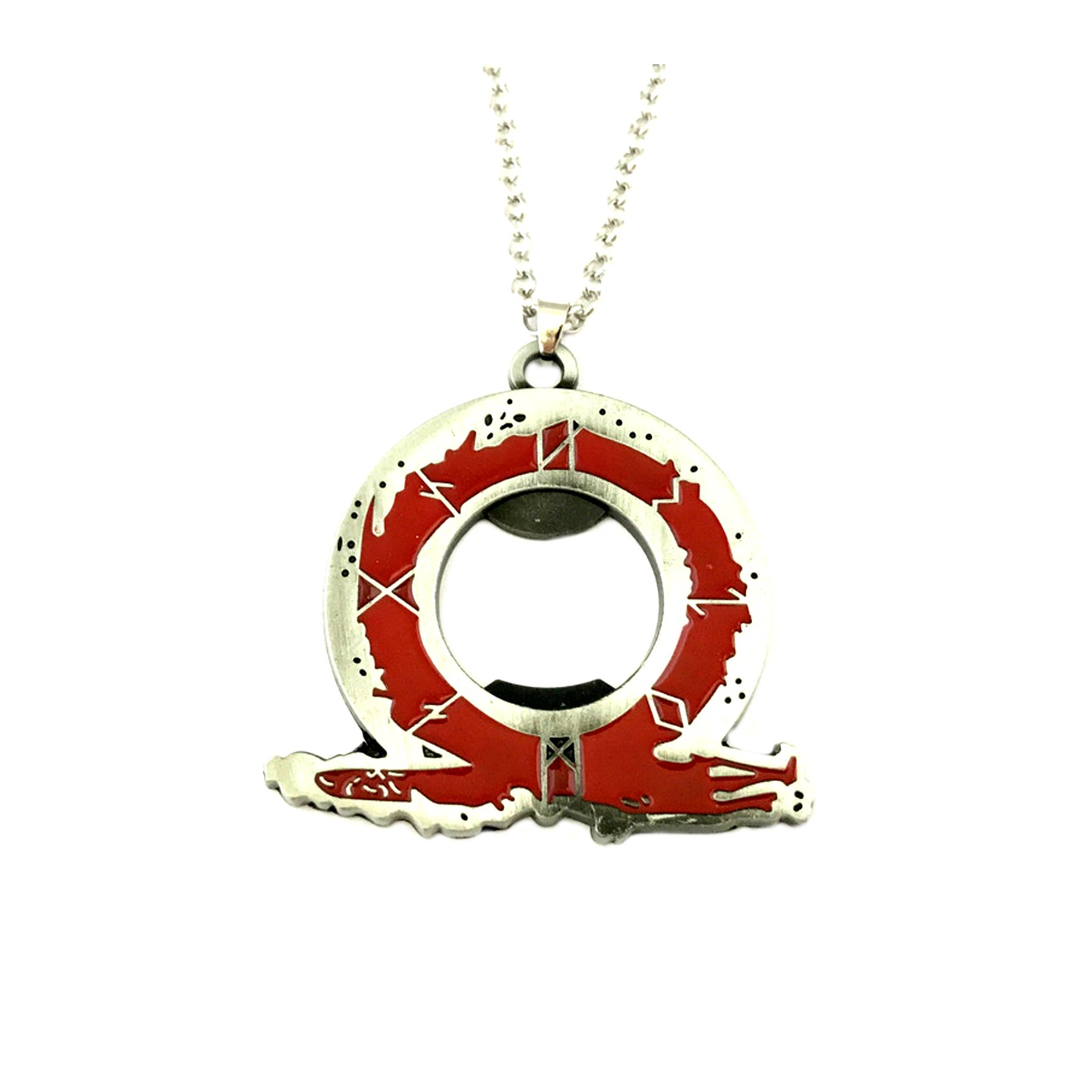 God of War Pendant Necklace TV Movies Classic Cartoons Superhero Superhero Gaming Console PC Games Logo Theme Cosplay Premium Quality Detailed Jewelry Gift Series