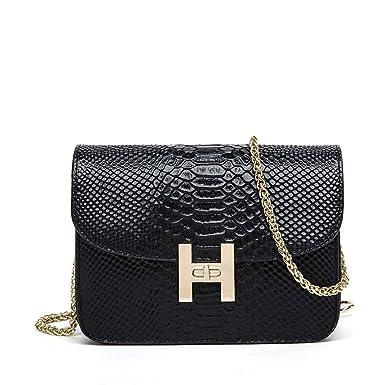 a569f9f23a1eb PU-Leder-Handtaschen Schlangenmuster Schulter Messenger Bag Kleine  Quadratische Tasche Mini
