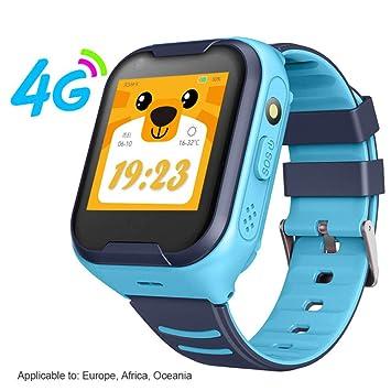 ZXCVBW G4H 4G Reloj Inteligente para niños GPS WiFi Ip67 ...